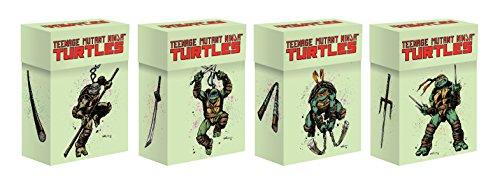 IDW Games IDW01604 Teenage Mutant Ninja Turtles: Deck Box Set (4), Mehrfarbig