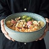 Seven stars Keramik Schüssel 22 * 9,5 cm Kreative Große Salat Hause Europäischen Rührschüssel Obstschale