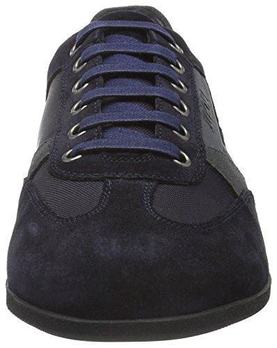 Joop! Hernas Sneaker Suede/Nylon, Baskets Basses Homme Bleu - Blau (402)