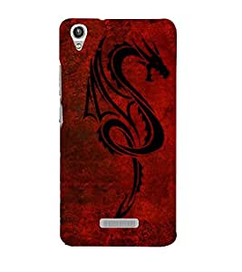 Vizagbeats chinese dragon Back Case Cover for Lava Pixel V1