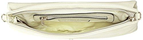 Bulaggi - Horsley Clutch, Pochette da giorno Donna Bianco Sporco (Eierschale)