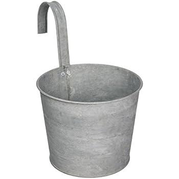 Pot Zinc avec accroche