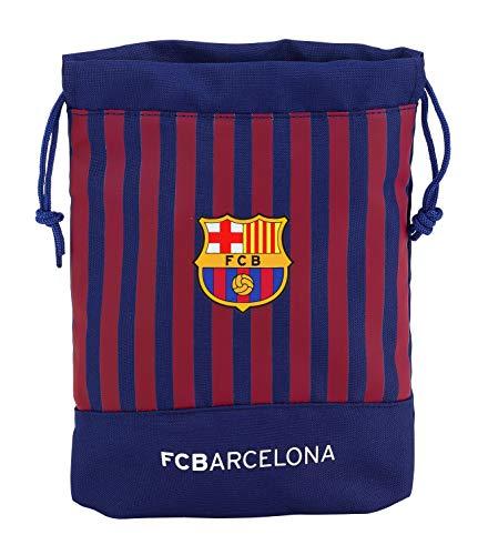 FC Barcelona 811829237 2018 Bolsa de Cuerdas para el Gimnasio 25 cm, Azul