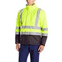 "Helly Hansen 70335_369-L Size Large ""Alta Insulated"" Hi-Vis Jacket - Yellow/Charcoal"