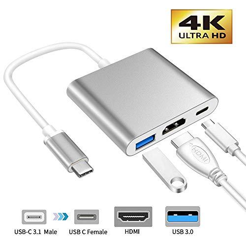 XMXWEI Adaptador USB C a HDMI