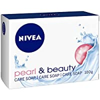 NIVEA Pearl & Beauty Soap Bar, Pearl Extract, Delicate Scent, 100g