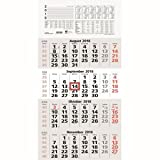 Zettler 4-Monatskalender 33x63,5cm Kalendarium 2018