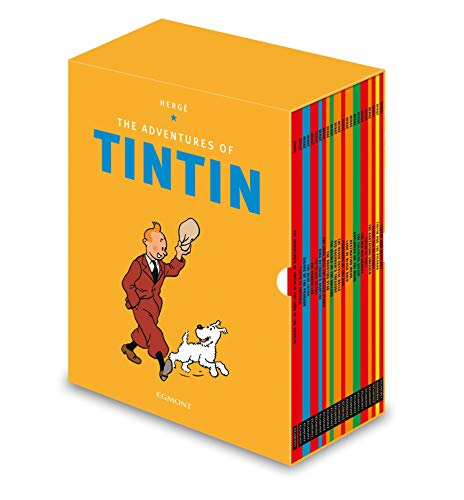 Adventures of Tintin: Complete Paperback Slipcase