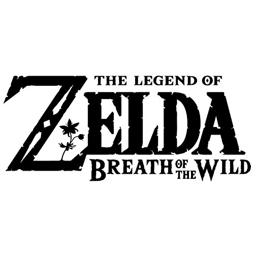 Preisvergleich Produktbild The Legend of Zelda Breath of the Wild Neuheit Vinyl Car Bumper/Wand/Laptop Aufkleber (ca. 25 x 12 cm)