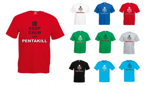 League of Legends – Keep Calm and Pentakill T-Shirt