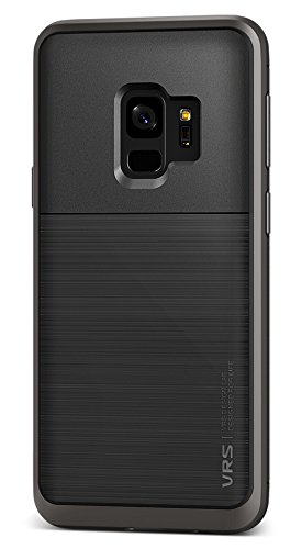 Samsung Galaxy S9 Hülle, VRS Design® Handyhülle [Schwarz] Silikon TPU Bumper Cover | Dual Layer Protection case | Ultra dünn hüllen [High Pro Shield] für Samsung Galaxy S9 (2018)
