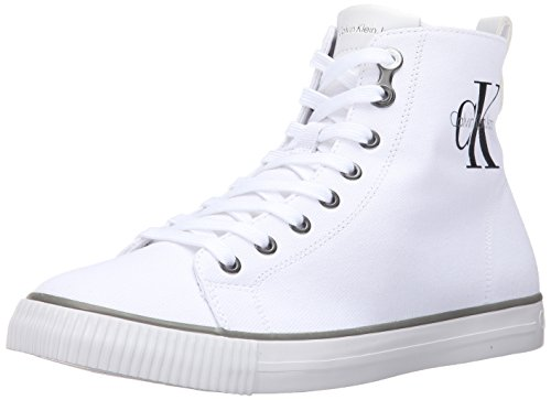 Calvin Klein Jeans Arthur - Sneakers Hauts - homme - Blanc (White) - 41 EU
