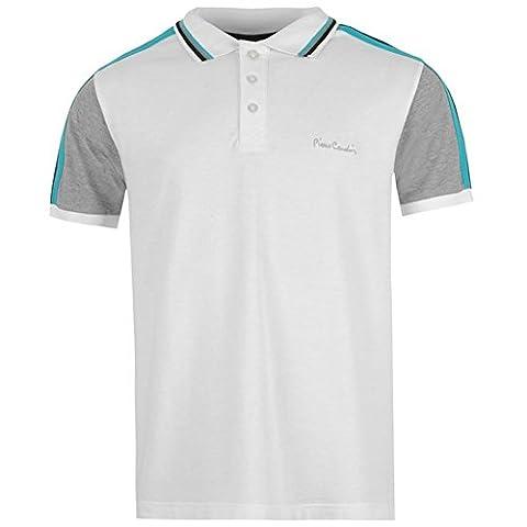 Pierre Cardin Polo Shirt, white, XL