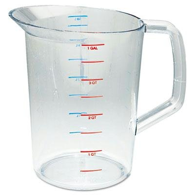rcp3218cle-rubbermaid-clear Bouncer Messbecher 4Quart Rubbermaid Commercial Products Bouncer