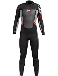 Osprey Boy's Origin 5/4mm Winter Wetsuit - Black/Red
