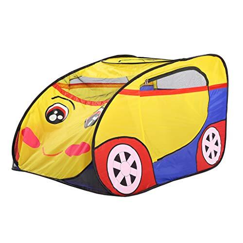Longra Spielzeug Kinder Pop Up Spielzelt Nettes Auto Spiel Spielzeug Faltbare Tragbare Spielhaus Indoor Outdoor Für Jungen Mädchen Vorschule Kindergarten