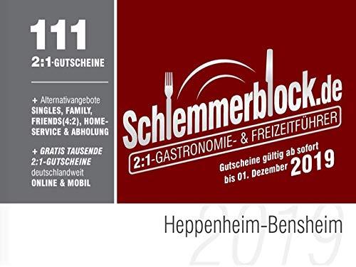 Schlemmerblock Heppenheim-Bensheim 2019