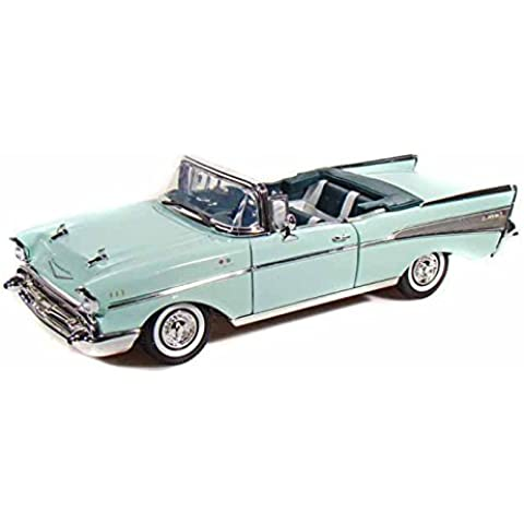 1957 Chevy Bel Air Convertible 1/18 Green by Chevrolet