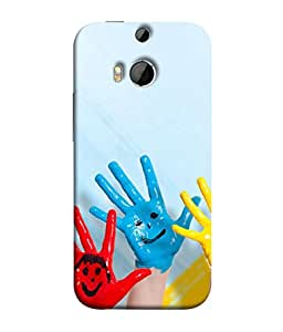 PrintVisa Designer Back Case Cover for HTC One M9 Plus :: HTC One M9+ :: HTC One M9+ Supreme Camera (International Kindergarten Togetherness Education Creativity Elementary Beautiful Expression)