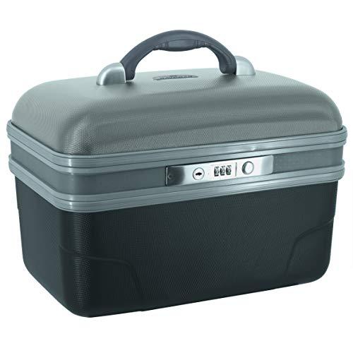 SAVEBAG - ASHOKA - Vanity rigide - noir/rouge - 34 X 20 X 23 cm - 1,6kg - 13 L
