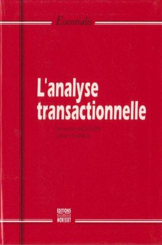 L'analyse transactionnelle par Simonne Mortera