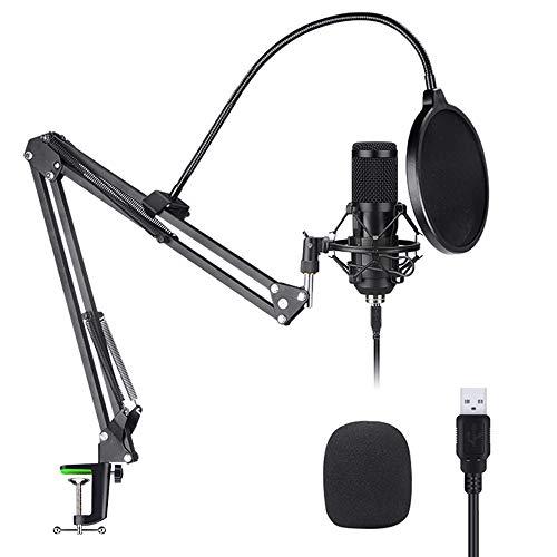 LG&S USB Microphone Kit, Kondensatormikrofon für Podcast
