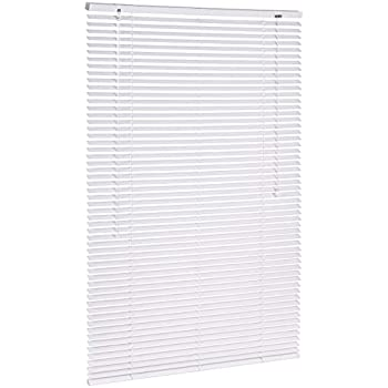 Customizable 80cm Wide x 140cm Drop Aluminium Venetian Blind White