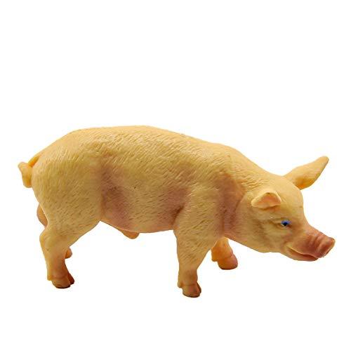 Rossi Rosa Schwein, Kunststoff, Größe 5, Mehrfarbig, Einheitsgröße (Miniatur-kunststoff-schwein)