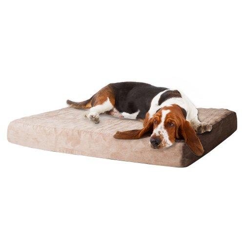 Zip Abnehmbare (PETMAKER Hundebett aus Memory-Schaum, Abnehmbarer Bezug, Large)