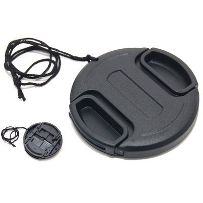 JJC LC-82 Universal 82mm Lens Cap for Nikon Canon Camera Black