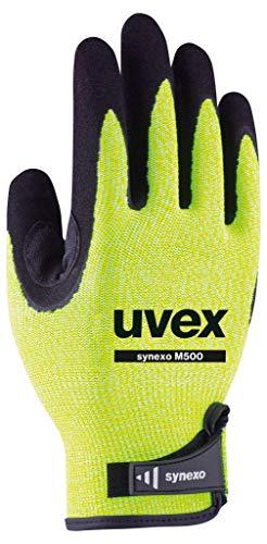 Uvex Synexo M500 Gepolsterte Schnittschutzhandschuhe - Gelb-Schwarz - Gr 09 (L)