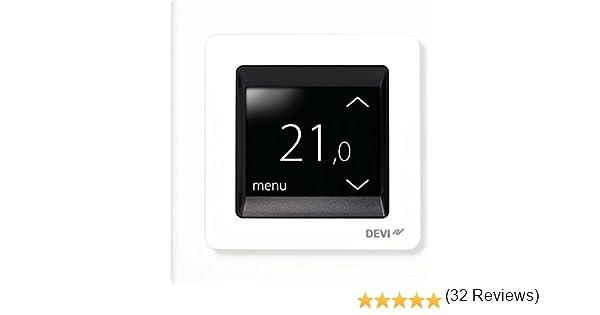 Thermostat WiFi r/égulateur de temp/érature pour plancher chauffant /électrique Compatible avec Alexa Google Home IFTTT 16A,processus de dessin de surface