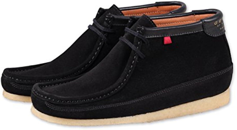 DjinnsGenesis High Herren Sneaker Kurzschaft Lederstiefel Stiefel Boot - botas clásicas Hombre