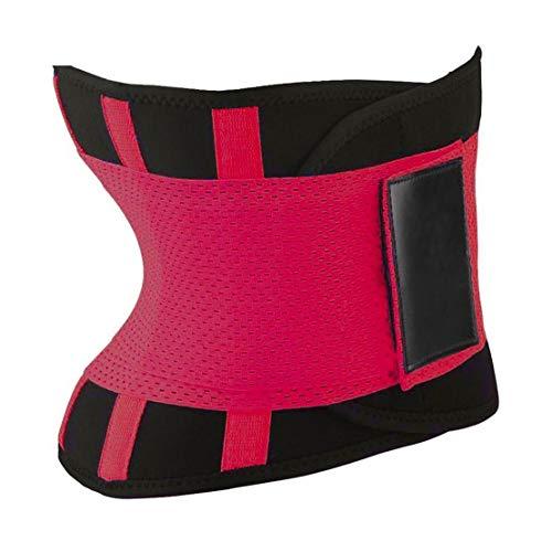 Komfortable Frauen Body Shaper Former Gürtel Sport Damen Taille Trainer Cincher Kontrolle Brennenden Körper Bauch Gürtel - Rose Red M (- Für Gürtel, Frauen Former)