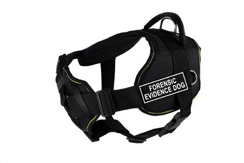 dean-tyler-fun-works-forensic-evidence-dog-harness-with-padded-chest-piece-large-fits-girth-size-32-