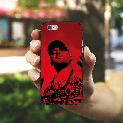 Apple iPhone X Silikon Hülle Case Schutzhülle Kool Savas Fanartikel Merchandise John Bello Story II Silikon Case schwarz / weiß