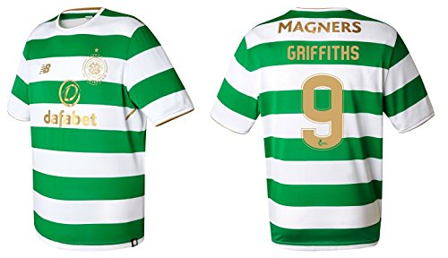 Trikot Herren Celtic Glasgow 2017-2018 Home - Griffiths 9 (L) (Trikot Home Celtic)