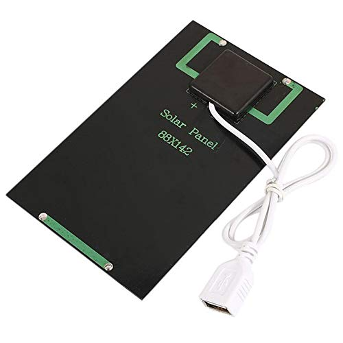 Features:High conversion rate, high efficiency output.Environmental protection and energy inexhaustible.Standard USB output fit for mobile phone and other portable digital devices.Ultra thin and light design makes it easy to transport. Good relia...