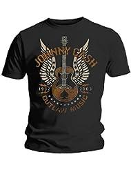 Johnny Cash T-Shirt Music Outlaw Größe XXL size 2XL