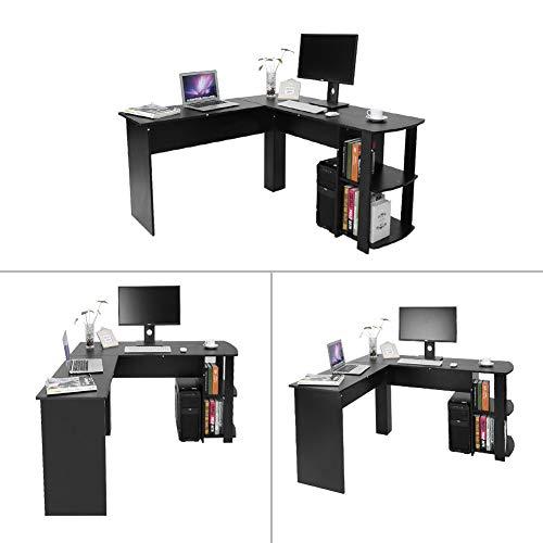 ecktisch holz Generic Computer-Ecktisch für Gaming-PCs, Heimschreibtisch, Holz, Büro, Möbel, Ecktisch