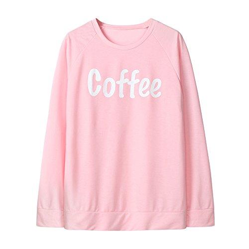 Mom-kinder Sweatshirt (Baby Kleid Huhu833 Mom & Me Baby Kind Mädchen Milch Print Langarm Sweatshirt Tops Familie Kleidung (Rosa, M))