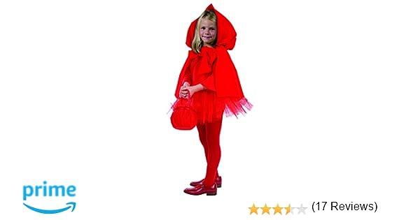 c99827d3f2 Joker e 863-001 - Costume di Carnevale in Busta, Cappuccetto, Rosso:  Amazon.it: Giochi e giocattoli