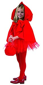César E863-003 - Disfraz infantil de Caperucita roja (3-5 años)