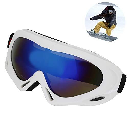Ski Snowboard Goggles Außenbrille mit UV-Schutz Wind Resistance Anti-Glare-Objektive Schnee-Brille für Männer Frauen und große Kinder 7.5