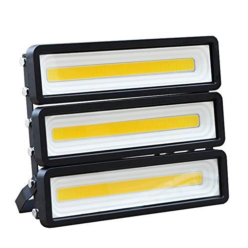 LED Flutlichtstrahler IP65 Wasserdichte Sicherheitslampe Hof Park Kunst Füllen Licht Outdoor Worker WKZ Fluter Strahler (Farbe : Weißes Licht-150W)