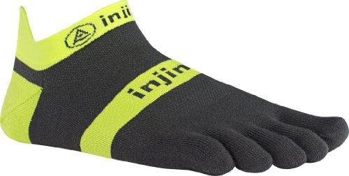 Injinji Run Lightweight No-Show, Color:Neonyellow;Size:S (37-40)