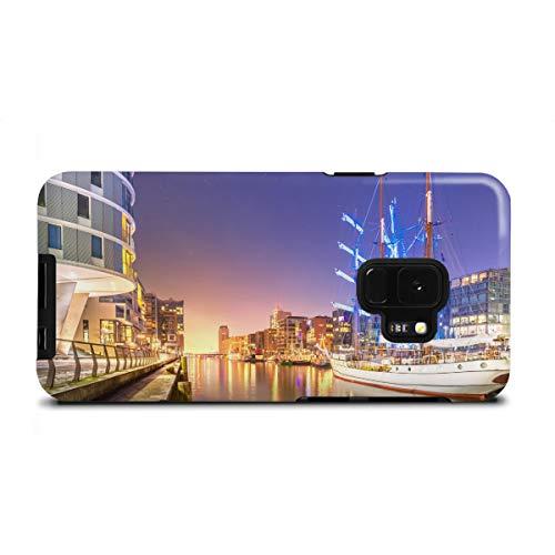 artboxONE Samsung Galaxy S9 Tough-Case Handyhülle Sandtorhafen II von Jan Hartmann