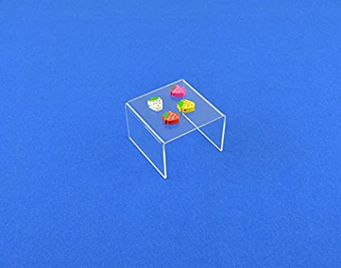 10 x Acrylic Display Plinth / Stand / Holder /