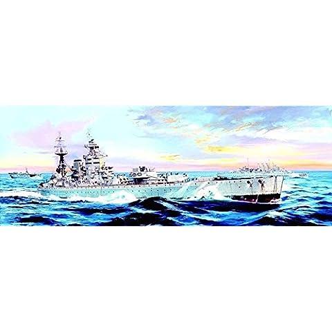 Trumpeter 03708 - kit modelo del buque de guerra HMS Nelson en 1944
