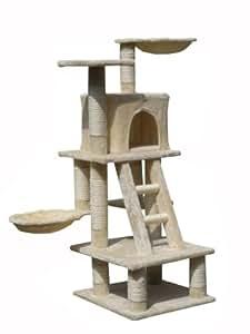 zoomundo 53756841 arbre chat beige. Black Bedroom Furniture Sets. Home Design Ideas